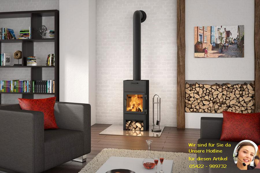 holz kaminofen lars 800 3 5 kw mit backfach arcadia fire company ebay. Black Bedroom Furniture Sets. Home Design Ideas