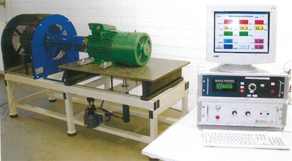 Prüfstand und Messtechnik für Elektromotoren und Generatoren